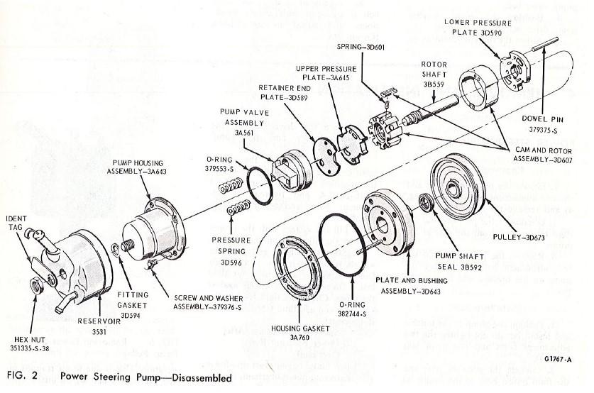 Parts Master 91572 Power Steering Pressure Hose